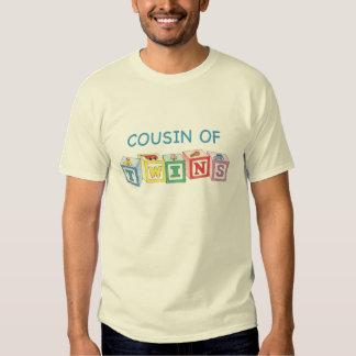 Bloques de los gemelos del primo camisas