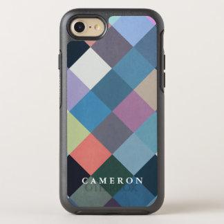 Bloques multicolores geométricos de los modelos el funda OtterBox symmetry para iPhone 8/7