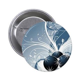 Blue graphics for Christmas - Pin