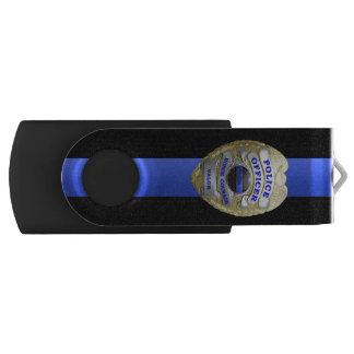 Blue Line fino Badge Memoria USB