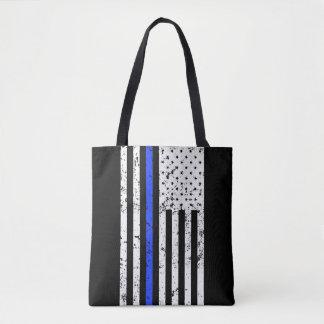 Blue Line fino - oficial de policía - bolso