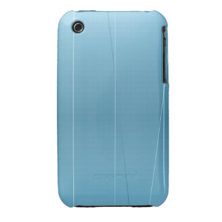 Blue Line imprime Funda Bareyly There Para iPhone 3 De Case-Mate