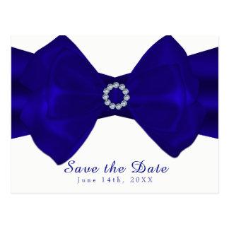 Blue Ribbon real y los diamantes ahorran la fecha Postal