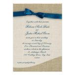 Blue Ribbon y boda de la arpillera Comunicado