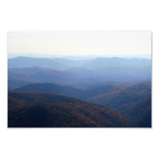 Blue Ridge Mountains, Carolina del Norte Foto