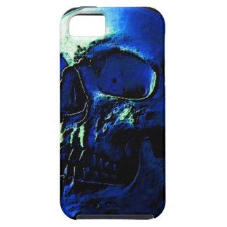 Blue Skull iPhone 5 Carcasas