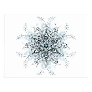 Bluebells congelados postal