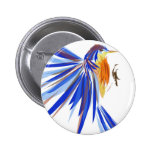 Bluebird Chapa Redonda De 5 Cm