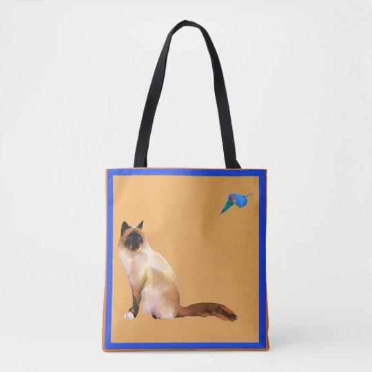 Bluebird de la bolsa de asas de la felicidad