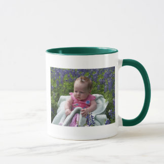 bluebonnet de los addies taza