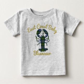 Bluenoser de Nueva Escocia de la langosta del bebé Camiseta De Bebé