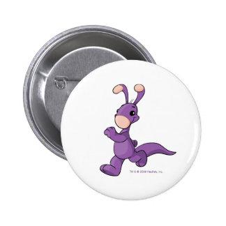 Blumaroo púrpura que marcha chapa redonda 5 cm