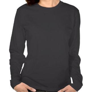 Blusa de manga larga del borracho camiseta