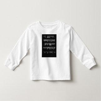 Blusa de manga larga elegante del niño camisetas