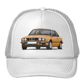 BMW anaranjado 3 series (E30) Gorro