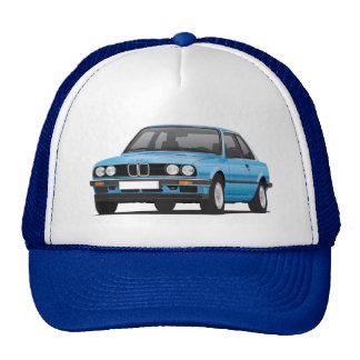 BMW azul 3 series (E30) Gorro
