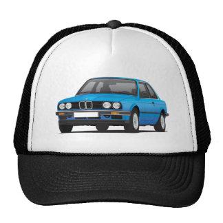 BMW azul 3 series (E30) Gorros