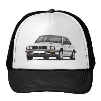 BMW de plata 3 series (E30) Gorras De Camionero