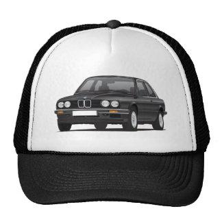 BMW negro 3 series (E30) Gorro