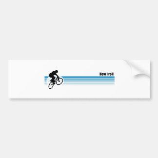 BMX - Cómo ruedo Pegatina Para Coche