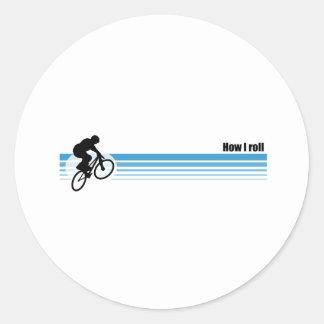 BMX - Cómo ruedo Pegatina Redonda