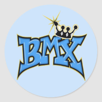 BMX ETIQUETA REDONDA
