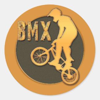 BMX PEGATINAS REDONDAS