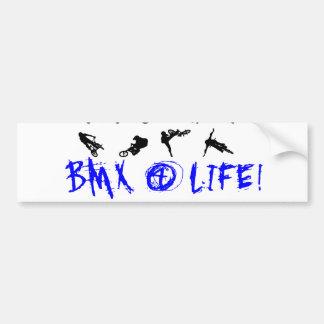 BMX pegatina para el parachoques de 4 vidas Pegatina Para Coche