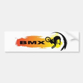 BMX único Pegatina Para Coche