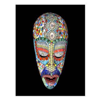 ¿Bob, por qué la cara larga? Máscara del mosaico Postal