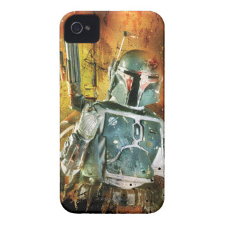 Boba Fett Stylized Carcasa Para iPhone 4