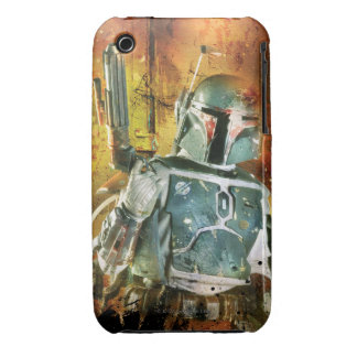 Boba Fett Stylized Funda Bareyly There Para iPhone 3 De Case-Mate