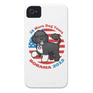 Bobama divertido las elecciones del perro 2012 iPhone 4 protector