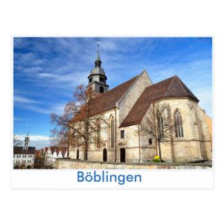 Böblingen, Stadtkirche Postal