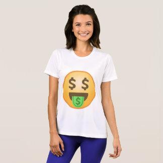 Boca Emoji del dinero Camiseta