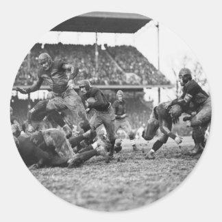 Boca Football, 1923 del choque Pegatina Redonda
