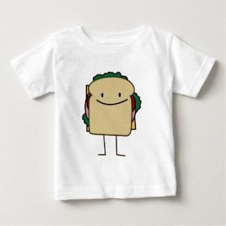 Bocadillo sonriente feliz - obra clásica camiseta de bebé