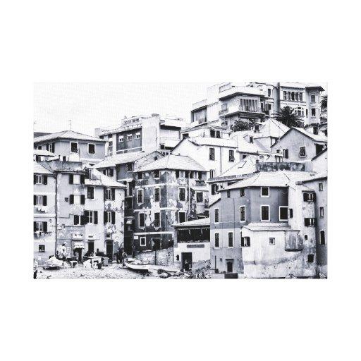 Boccadasse, Italia Impresiones En Lona
