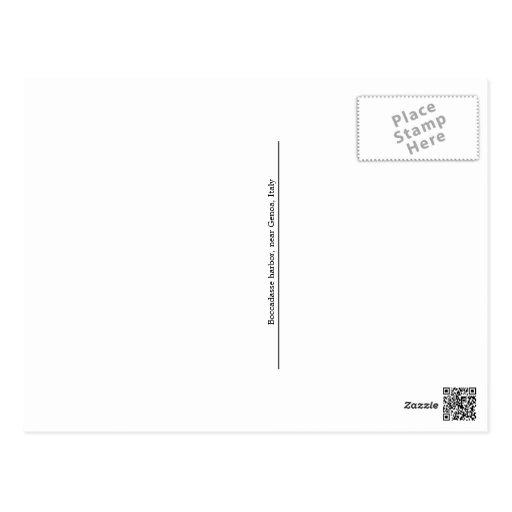 Boccadasse, postal de Italia