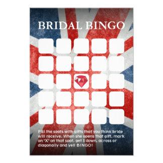 Boda BRITÁNICO de la bandera/tarjetas nupciales de Anuncios