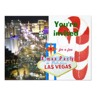 Boda de diciembre en Las Vegas Invitación 16,5 X 22,2 Cm