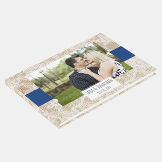 Boda de la arpillera y de la foto de los azules libro de visitas
