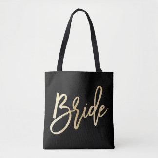 Boda de la novia bolsa de tela