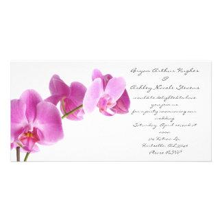 boda de la primavera tarjetas fotográficas personalizadas