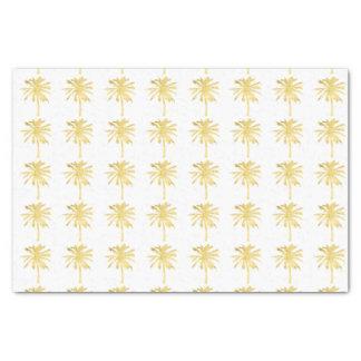 Boda de la silueta de la palmera papel de seda