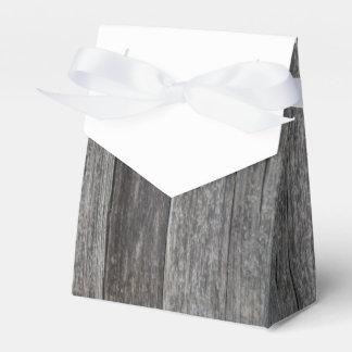 Boda de madera rústico caja de regalos