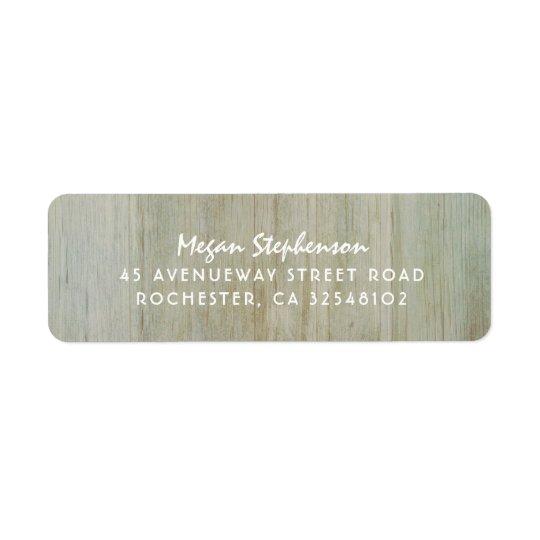 Boda de madera rústico de la imagen de la textura etiqueta de remite
