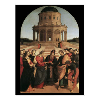 Boda de Raphael de la postal de la Virgen