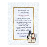 Boda del pingüino - ducha nupcial invitaciones personales