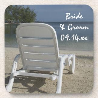 Boda del sillón de la playa